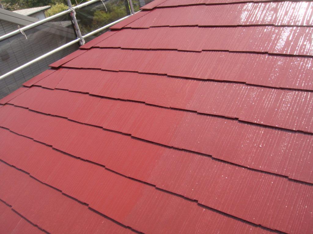 千葉市原市の外壁塗装の屋根塗装完了後