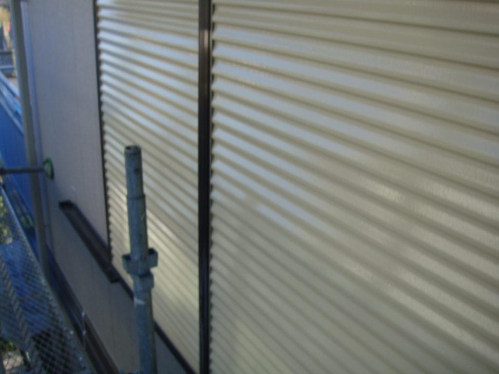 千葉市原市の外壁塗装の雨戸塗装完了後